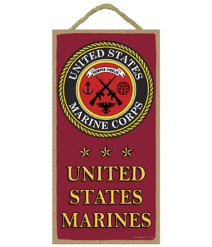 United States Marines (with logo and sta