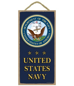 United States Navy (with logo and stars)
