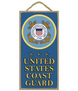 United States Coast Guard (with logo and