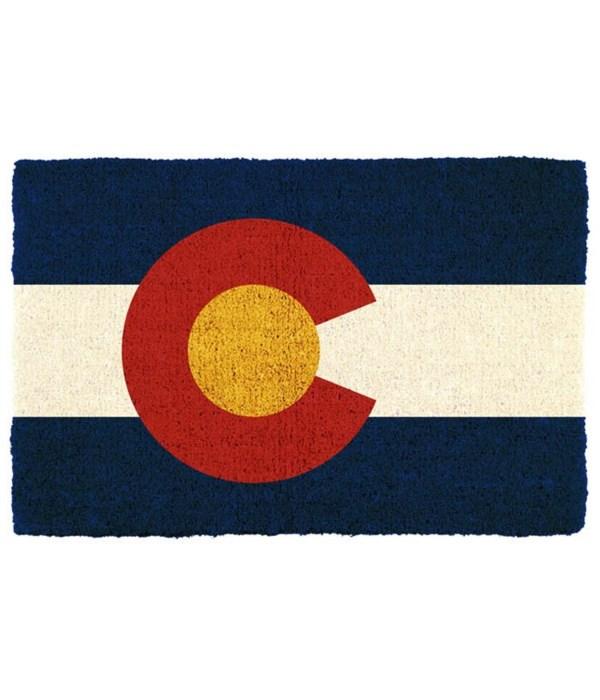 CO Houseware Doormat Flag
