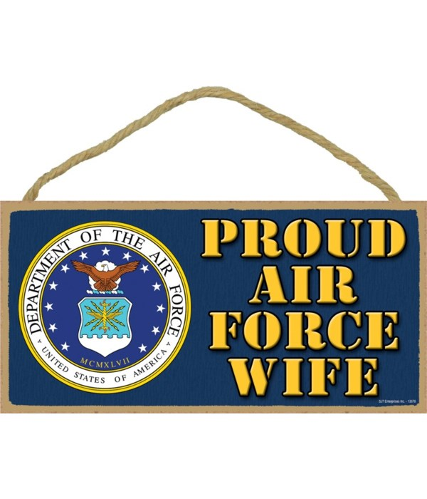 Proud Air Force Wife 5x10