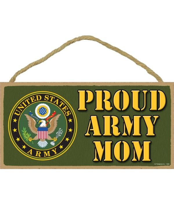 Proud Army Mom 5x10
