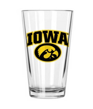 U-IA Drinkware Pint Glass 16oz