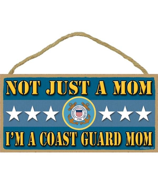 not just a Mom, I'm a Coast Guard Mom 5x