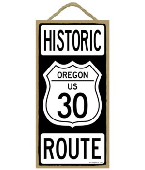 Historical - Oregon US 30 - Route 5x10