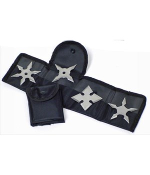 Throwing star knives 4PC set
