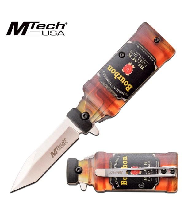 "Bourbon MTech USA 3.25"" S/A knife"