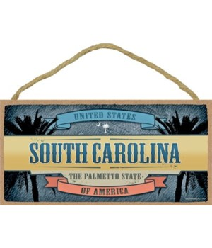South Carolina - Billboard - The Palmett