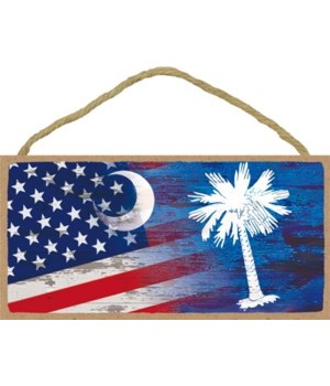 South Carolina Flag - United States Flag
