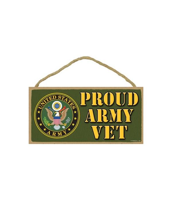 Proud Army Vet 5x10