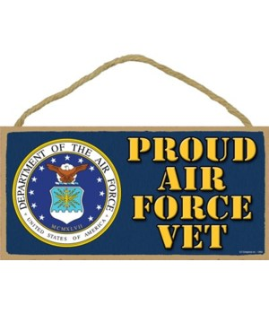 Proud Air Force Vet 5x10