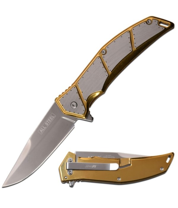 """Red & Black 4.75"""" S/A knife"""