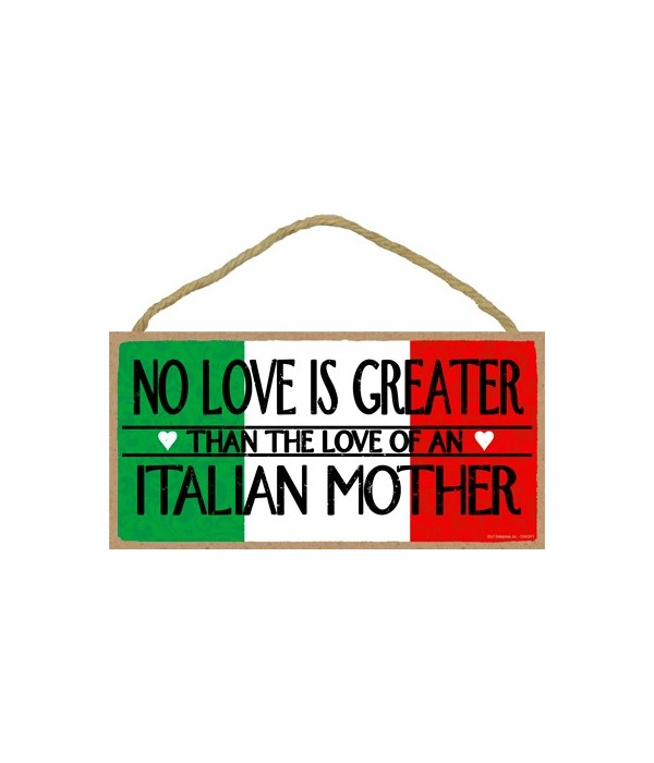 no love is greater than the love of an I