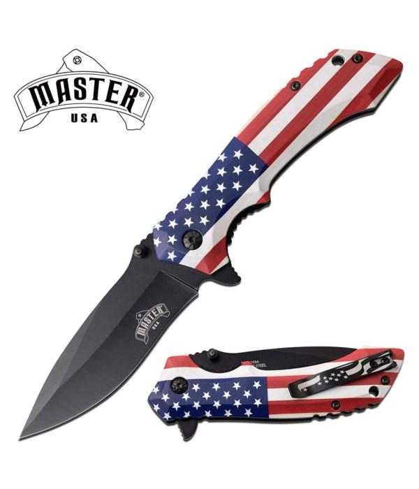 """Flag handle 4.75"""" S/A Knife"""