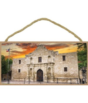 Texas - Alamo at Sunset - Photograph  5x