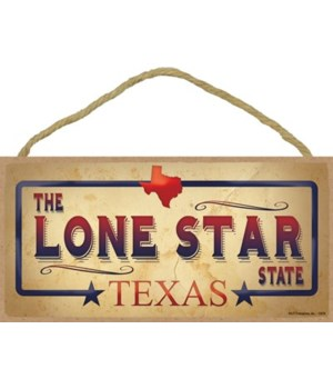 Texas - The Lone Star State - Blue Board