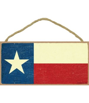 Texas - Texas State Flag - Red, White, a