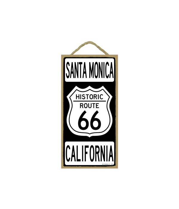Route 66 - Santa Monica, California 5x10