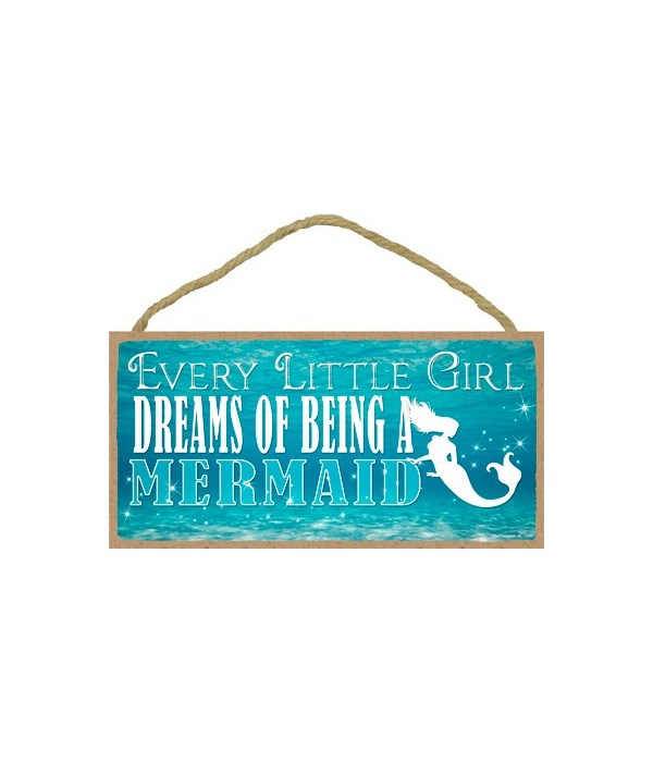 Every little girl dreams of being a merm