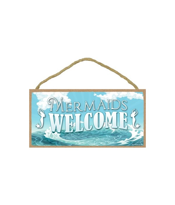 Mermaids welcome 5x10