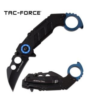 """karambit Blue/BLK 5"""" S/A knife 5"""""""