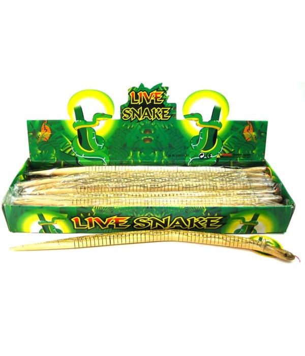Wood Snake 50CM  24pc