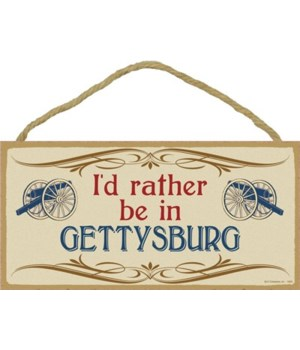 I'd rather be in Gettysburg (blue canFn