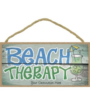 Beach Therapy - green cocktail 5x10