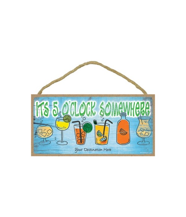 it's five o'clock somewhere - various co
