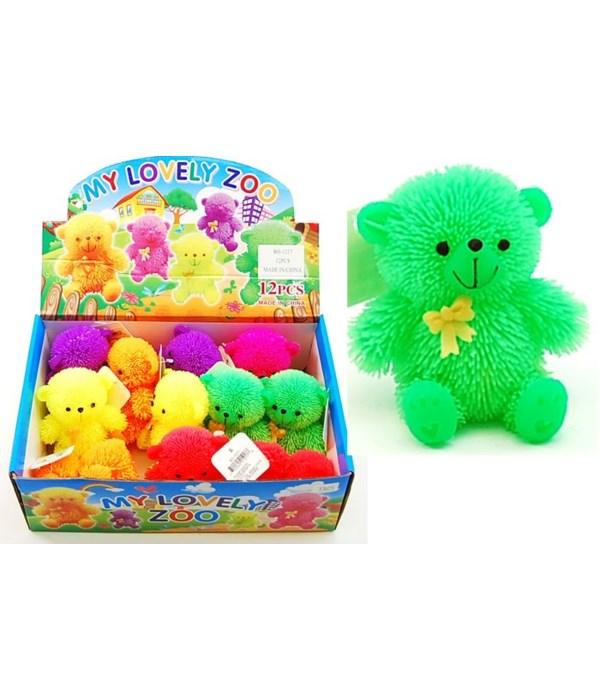 """Light up Teddy Bears 6/A -12pc-3"""""""