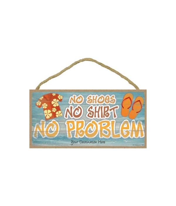No shoes, no shirt, no problem - floral