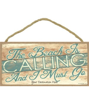 The beach is calling, and I must go - sl