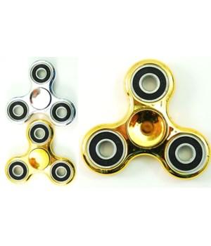 Fidget Spinr  Shiny metallic gold/silver
