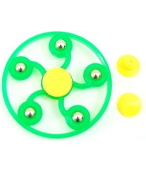 Fidget Spinner Glow w/ 5 beads
