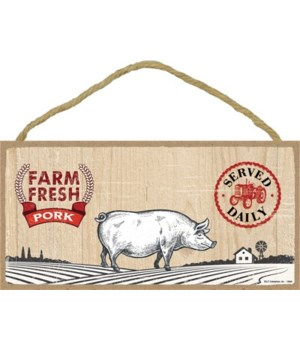 Farm Fresh Pork 5x10 sign