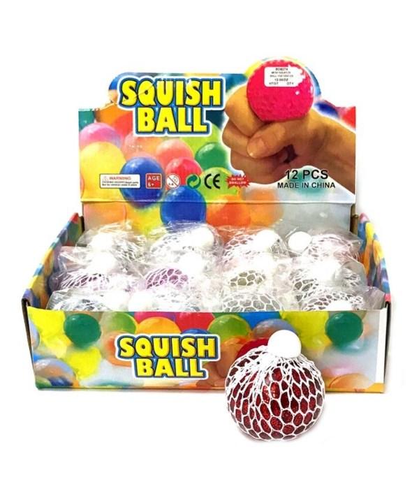 Light up mesh squeeze ball