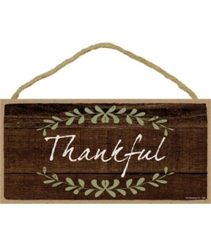 Thankful 5x10 sign