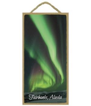 Fairbanks, Alaska - aurora borealis 5x10