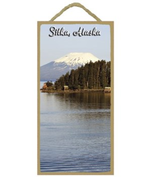 Sitka, Alaska -  water in the foreground