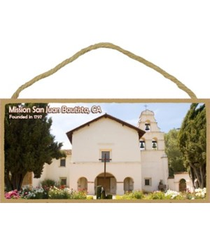Mission San Juan Bautista, CA - founded