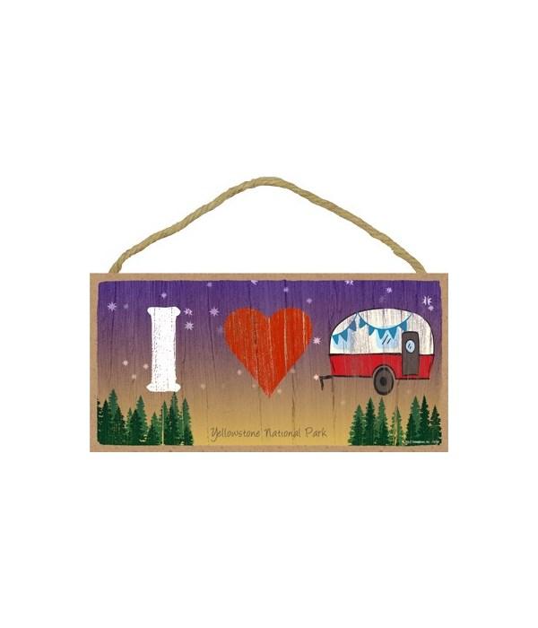 I (heart) Camper - symbols 5x10