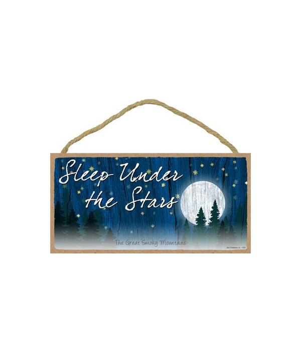 Sleep under the Stars - moon scene w/sta
