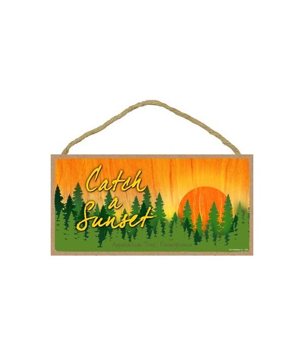 Catch a Sunset - Forest sunset 5x10