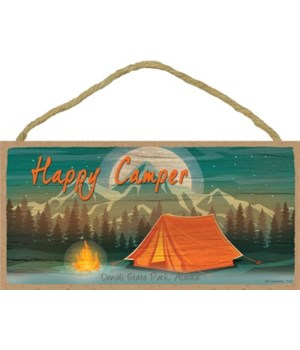 Happy Camper - Test and campfire - mount