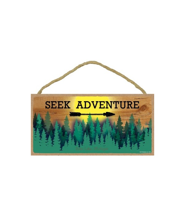 Seek Adventure - Sun and Forest 5x10