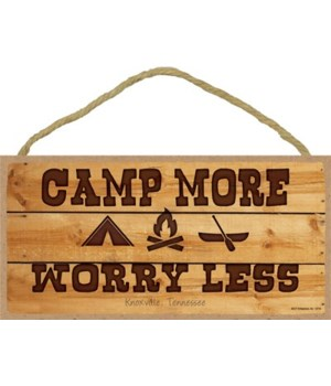 Camp More - Worry Less 5x10
