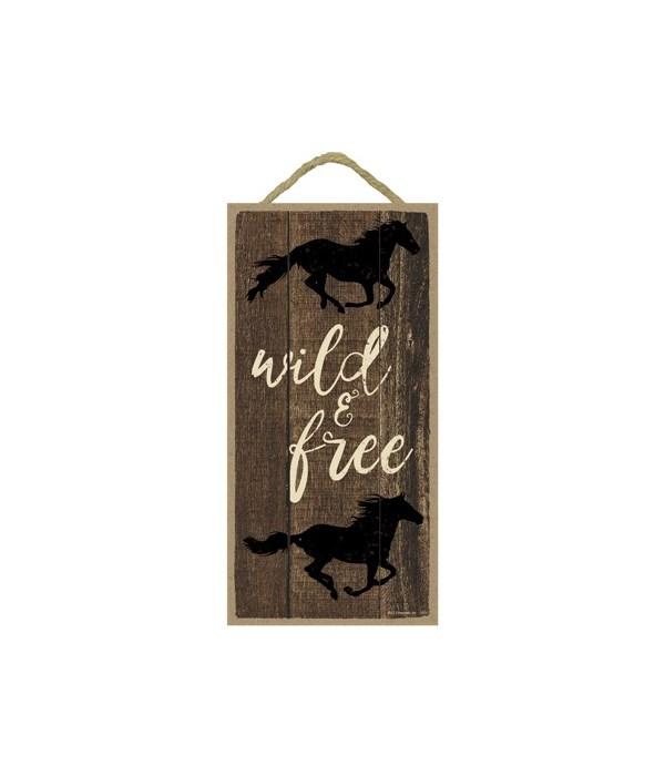 Wild & free (horses running) (vertical)