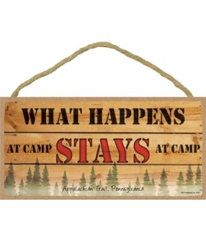 What Happens at Camp - Stays at Camp 5x1