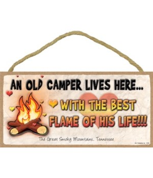An old camper lives here…With the best f
