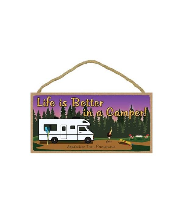 Life is Better in a Camper - Camp scene